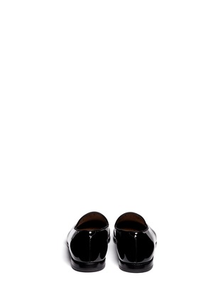 Back View - Click To Enlarge - GIORGIO ARMANI - Patent leather smoking shoes