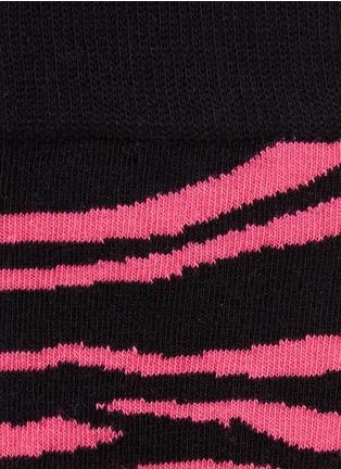 Detail View - Click To Enlarge - Happy Socks - Zebra socks