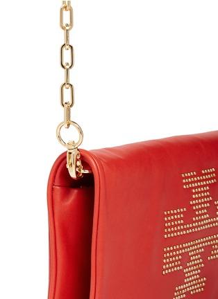 - Tory Burch - 'Reva' logo stud leather crossbody bag