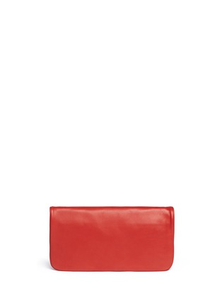 Back View - Click To Enlarge - Tory Burch - 'Reva' logo stud leather crossbody bag