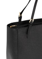 York' saffiano leather buckle tote