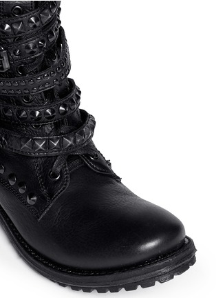 Detail View - Click To Enlarge - Ash - 'Rebel' stud strap leather boots
