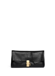 CHLOÉ'Drew' leather clutch