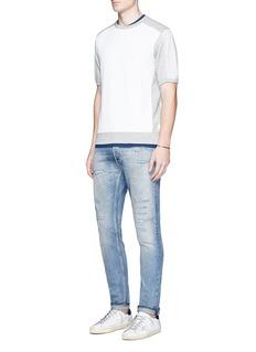 Scotch & SodaHome Alone' short sleeve sweatshirt
