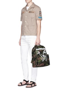 Valentino 'Mariposa' butterfly camouflage print backpack