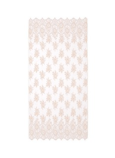 ValentinoFloral lace scarf