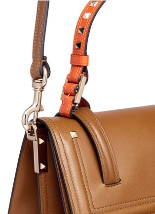 - Valentino - 'Cabana' medium leather top handle satchel