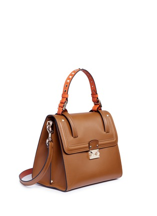 Figure View - Click To Enlarge - Valentino - 'Cabana' medium leather top handle satchel