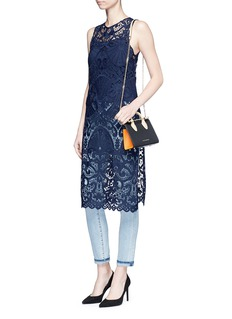 alice + olivia 'Kelissa' guipure lace sleeveless top