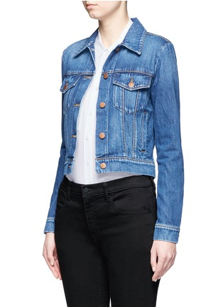 Front View - Click To Enlarge - J Brand - 'Harlow' denim jacket