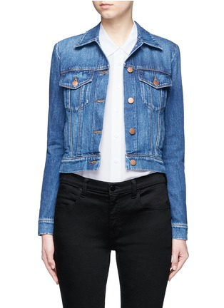 Main View - Click To Enlarge - J Brand - 'Harlow' denim jacket