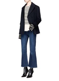 J Brand'Carolina' cropped flare jeans