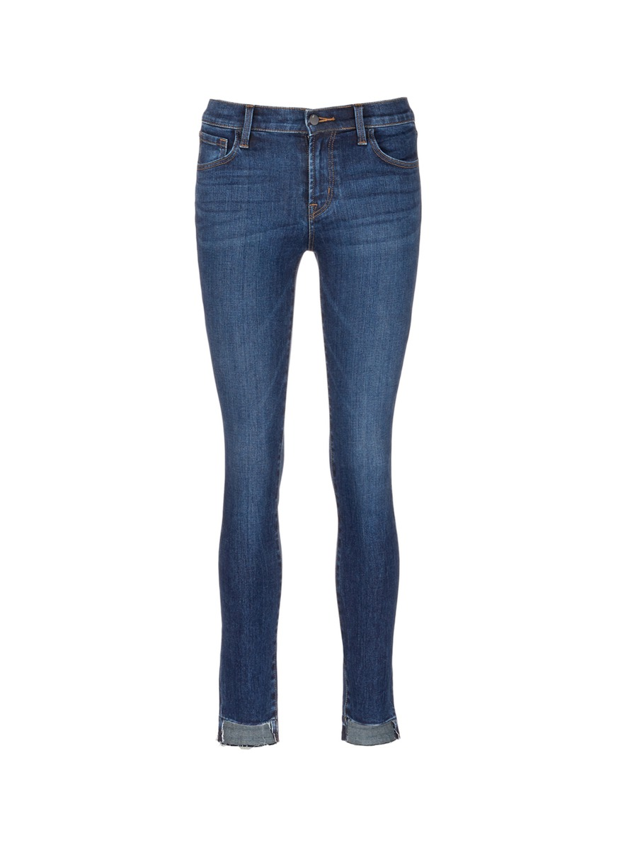 811 staggered cuff skinny jeans by J Brand