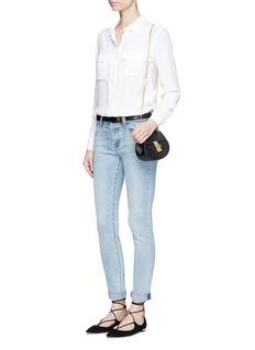 J BrandMid rise skinny jeans