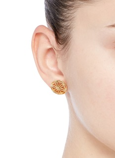 Philippe Audibert 'Lacey' floral cutout stud earrings