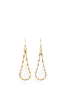 Philippe Audibert'Wythe' snake chain teardrop earrings