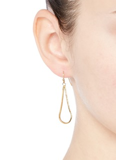 Philippe Audibert 'Wythe' snake chain teardrop earrings
