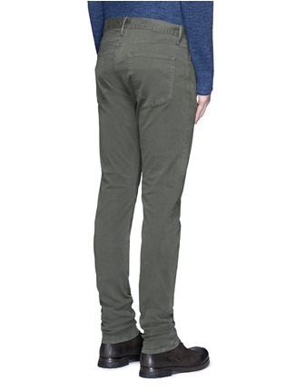 Back View - Click To Enlarge - 3x1 - 'M3' slim fit cotton twill pants