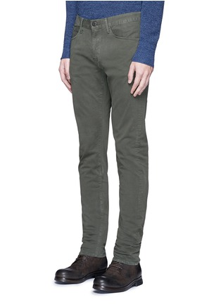 Front View - Click To Enlarge - 3x1 - 'M3' slim fit cotton twill pants