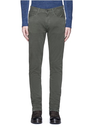 Main View - Click To Enlarge - 3x1 - 'M3' slim fit cotton twill pants