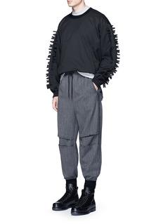 Feng Chen WangPatchwork knee jogging pants
