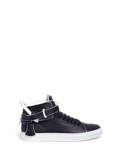 Buscemi '100MM Edge' high top leather sneakers