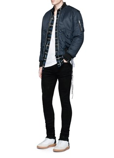 AmiriStacked slim fit jeans