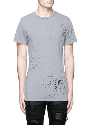 Main View - Click To Enlarge - Amiri - 'Shotgun' cotton T-shirt