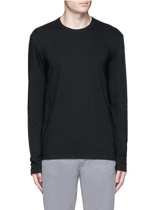 James Perse - Crew neck cotton jersey T-shirt