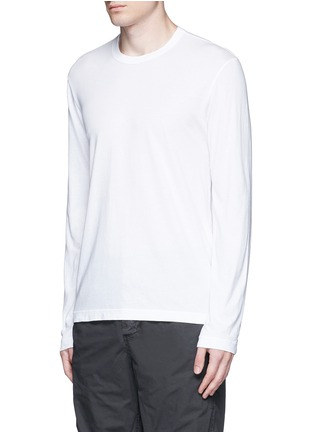 Front View - Click To Enlarge - James Perse - Crew neck cotton jersey T-shirt