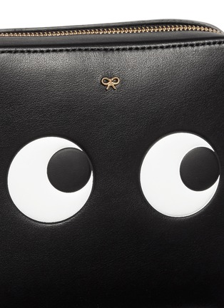 Detail View - Click To Enlarge - Anya Hindmarch - 'Eyes' embossed leather chain crossbody bag