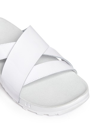 Detail View - Click To Enlarge - Nike - 'Taupo' slide sandals