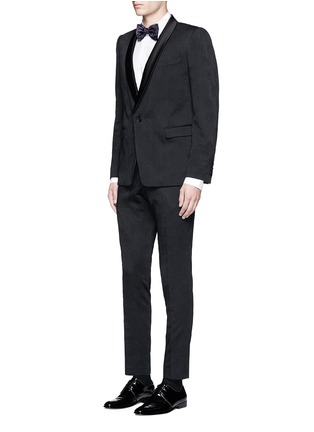 Dries Van Noten - 'Brosh' jacquard tuxedo blazer