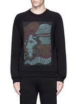 'Howard' psychedelic print sweatshirt