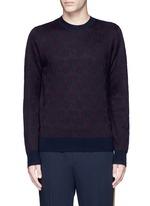'Mika' peacock jacquard sweater