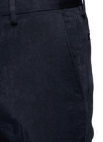 'Patrini' slim fit jacquard tuxedo pants
