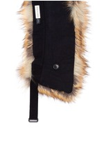 'Glenden' faux fur collar