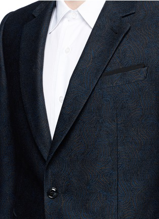 Detail View - Click To Enlarge - Dries Van Noten - 'Kenneth' slim fit jacquard suit