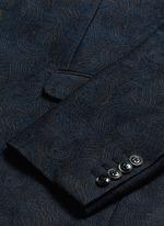 'Kenneth' slim fit jacquard suit