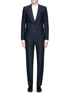 Dries Van Noten'Kenneth' slim fit jacquard suit