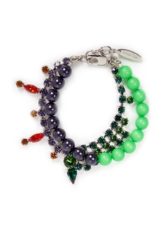JOOMI LIMCrystal bead double strand bracelet