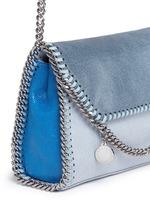 'Falabella' mini colourblock crossbody chain bag