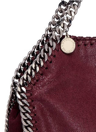 Detail View - Click To Enlarge - Stella McCartney - 'Falabella' mini shaggy deer crossbody chain tote