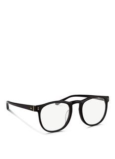 LINDA FARROWRound acetate optical glasses