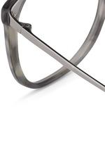 Titanium temple acetate optical glasses