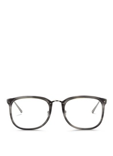 Linda Farrow Titanium temple acetate optical glasses
