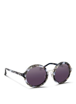 Figure View - Click To Enlarge - 3.1 Phillip Lim - Layered shell effect acetate round sunglasses