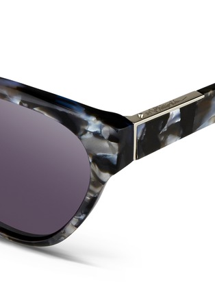 Detail View - Click To Enlarge - 3.1 Phillip Lim - Shell effect acetate cat eye sunglasses