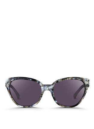 Main View - Click To Enlarge - 3.1 Phillip Lim - Shell effect acetate cat eye sunglasses