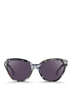 3.1 PHILLIP LIMShell effect acetate cat eye sunglasses
